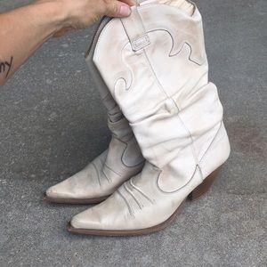 Aldo Leather Cowboy Boots